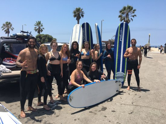 Wavehuggers: Women empowerment through surfing in Santa Monica.