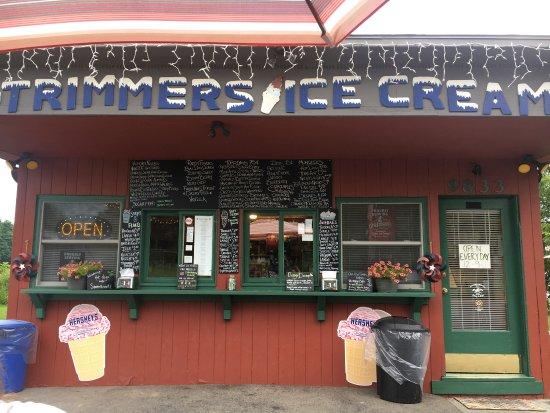 Trumansburg, NY: Trimmers Ice Cream