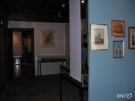 Motiers, Suisse : Intérieur du musée.