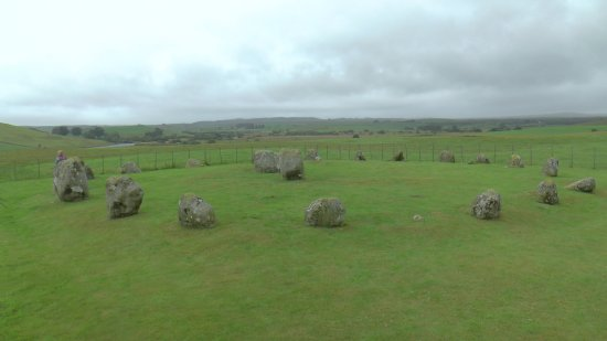 Wigtown, UK: Stone circle