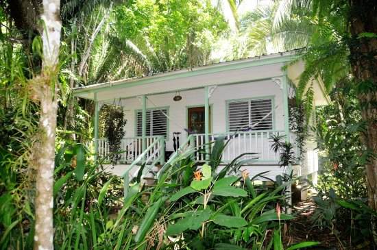 Punta Gorda, Belize: Detached Cottage Verandah