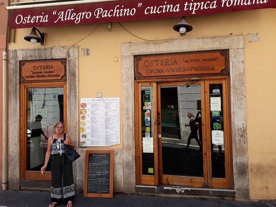 Osteria Allegro Pachino: Allegro Pachino, vean el sticker de tripadvisor