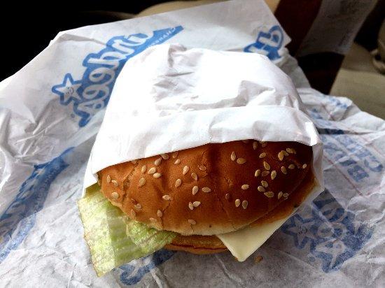 Auburn, AL : Burger in a Sleeve. Nice touch.