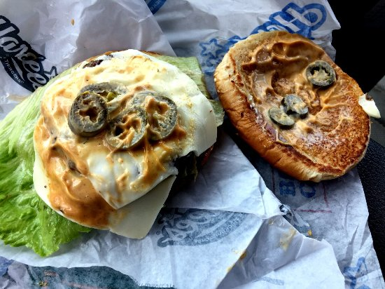 Auburn, AL : Jalapeno Double Cheese - Pepper and Cheese SIde