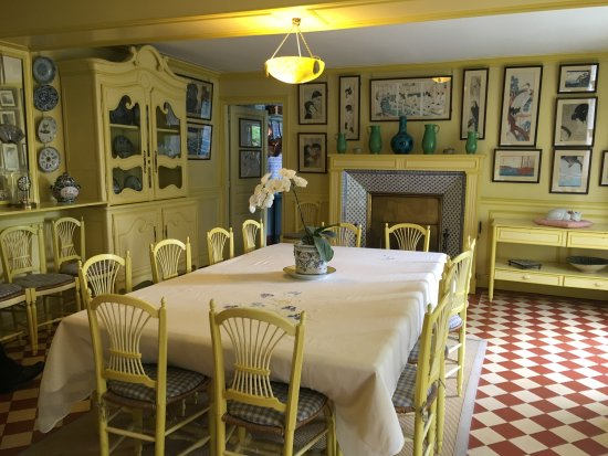 Great Claude Monetu0027s House And Gardens: Monet Dining Room