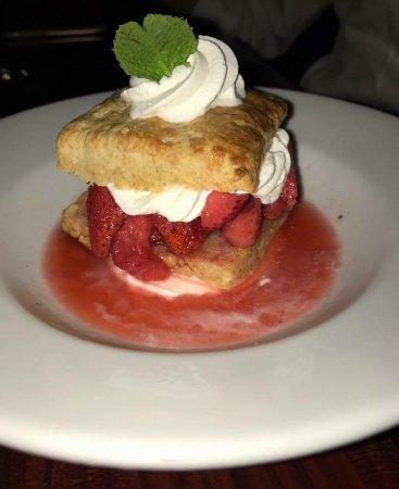 Marion, MA: Grand Marnier Strawberry Shortcake