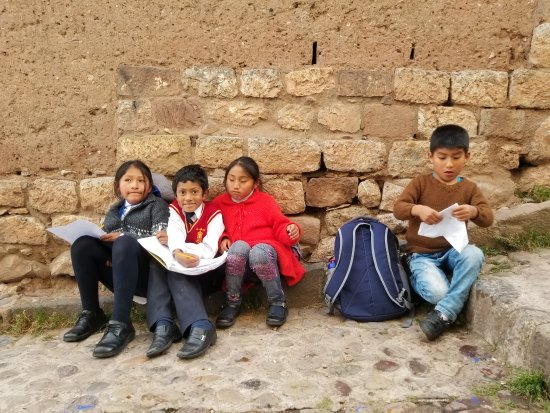 Proyecto Peru Centre: Few of the students at the centre.