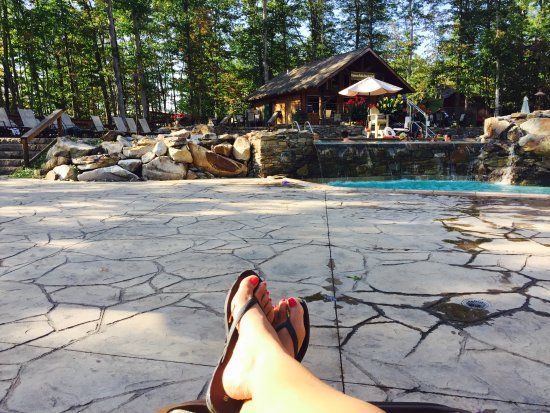 Adventures on the Gorge - Lodging: Awesome Pool time
