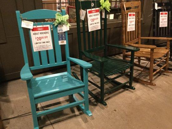Bridgeport, MI: Rocking chairs for sale.
