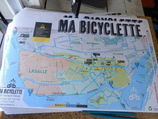 Ma Bicyclette: Bike Map