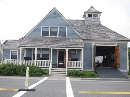 Hull, MA: Front of the museum