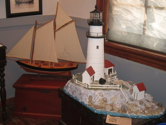 Hull, MA: Display inside the building