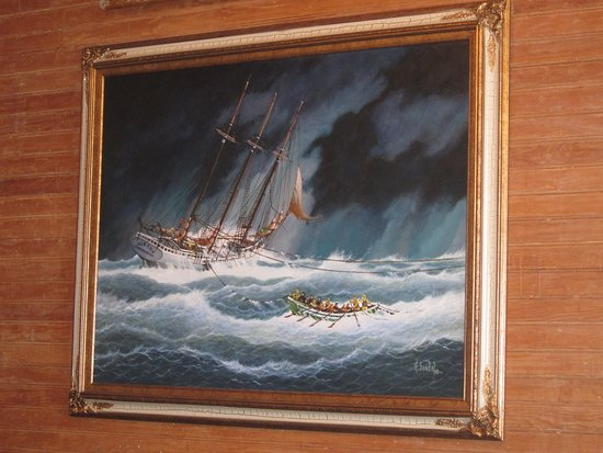 Hull Lifesaving Museum: 1 of the many photos of rescues