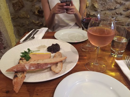 Sacrée fleur : Foie gras