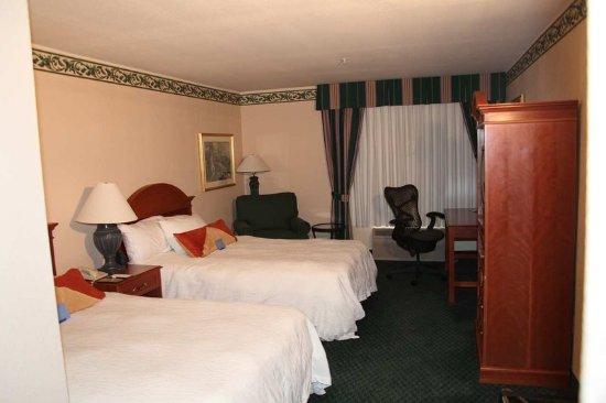 Elko, نيفادا: Room with double beds