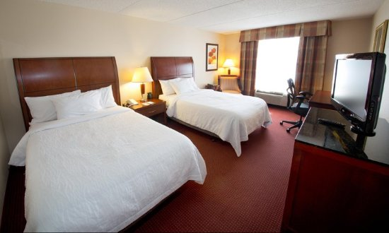 Hilton Garden Inn Pittsburgh/Southpointe: Two Double Bed Room