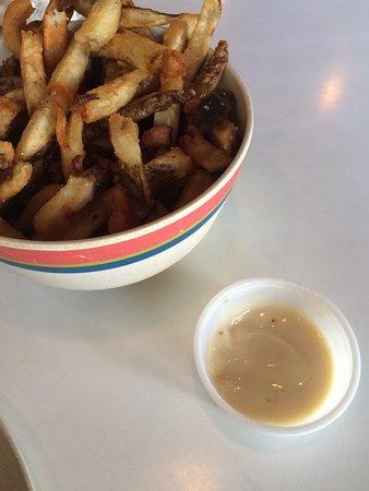 JACK's Burger Shack: The dip!!  Wow
