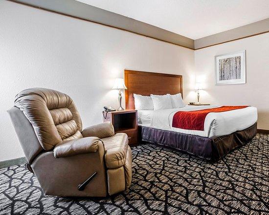 Platte City, MO: Guest Room