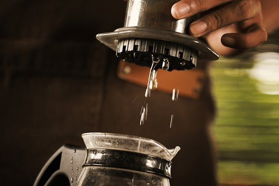 Tondano, Indonesia: Esspecto Coffee love to make coffee with passion for the city that loves to drink..!