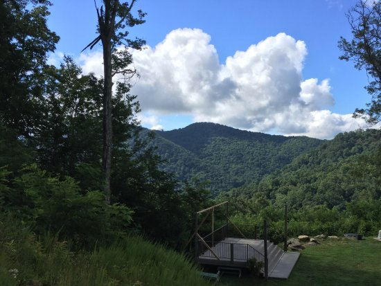 Clyde, Carolina del Norte: Views from top of the mountain