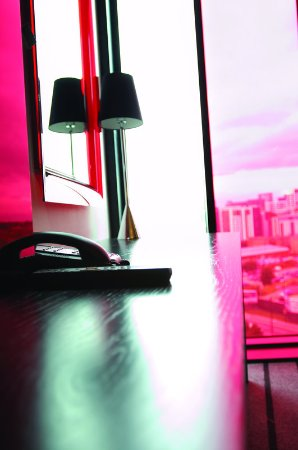 Crowne Plaza Manchester City Centre: Guest rooms feature spacious workdesks, free WiFi & flatscreen TVs
