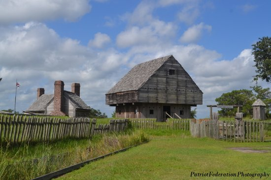 Darien, GA: blockhouse area