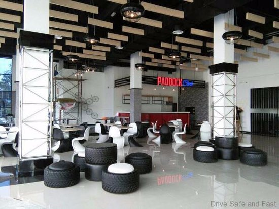 Nilai, Malasia: PADDOCK CLUB is one of the dining place with a motor sport concept and the price is affordable
