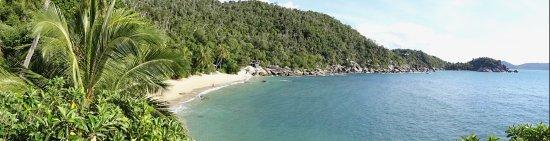 Bedarra Island Resort: View from our villa.