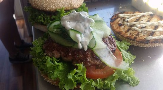 Rangiora, Новая Зеландия: Pulled Beef Burger - from one of our weekly specials
