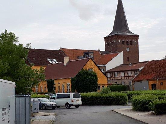 Sakskoebing, Denmark: Stadsmiljö i Saksköbing