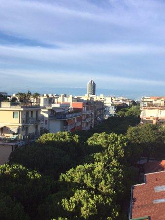 Hotel Menfi: la vista del paese