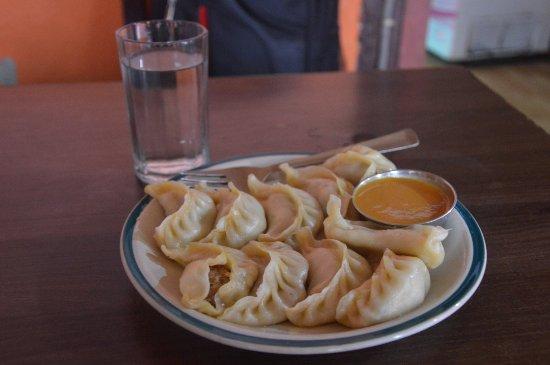 Madhyapur Thimi, Nepal:  momo