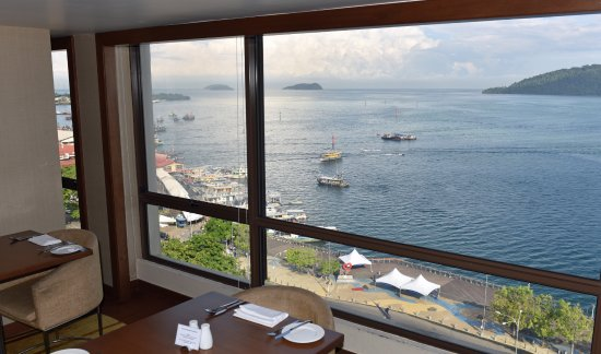 Hyatt Regency Kinabalu: The view from the Executive Lounge
