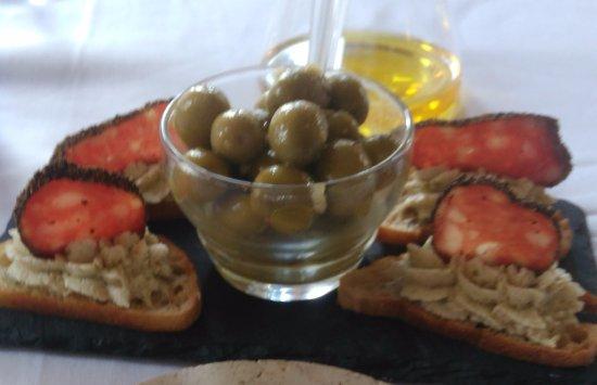 Amuse bouche picture of restaurant la marquiere for Amuse bouche cuisine