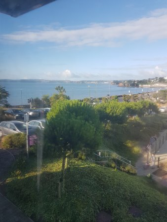 Premier Inn Torquay Hotel: View from room 521