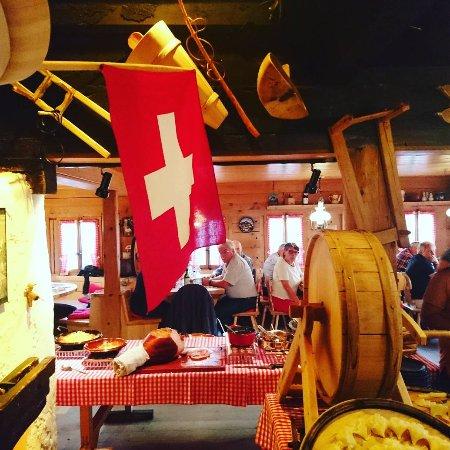 Sankt Stephan, Schweiz: Restaurant Chemi - Stube