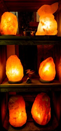 Gorgeous Himalayan Salt Lamps We Stock A Range Of Sizes And Designs