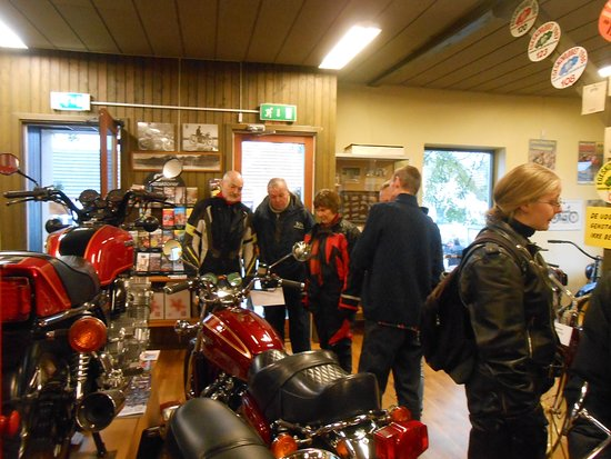 Motorcykelmuseet i Stubbekoebing