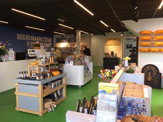 Woerden, The Netherlands: VVV winkel in het Kaaspakhuis