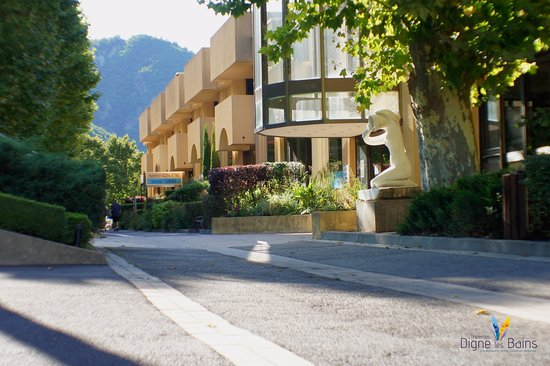 Digne les Bains, Francja: photo de l'établissement thermale