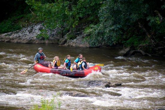 Dillsboro, Carolina del Norte: Rafting, kayaking, & canoeing in our backyard!