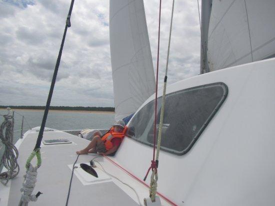 L'Oiseau Blanc : Navigation en toute sécurité avec un skipper expérimenté...
