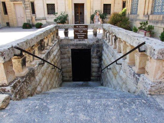 Krypta, Katakomben und Museum St. Agatha: Cripta Sant'Agata