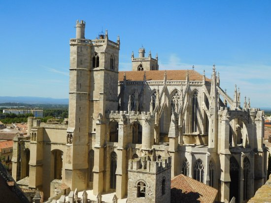 narbonne cathedral picture of cathedrale st just narbonne tripadvisor. Black Bedroom Furniture Sets. Home Design Ideas