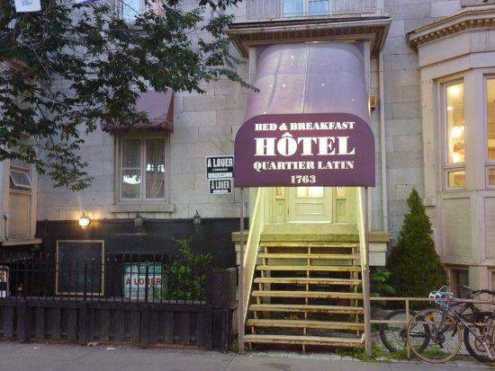 Quartier Latin Hotel: Ingresso