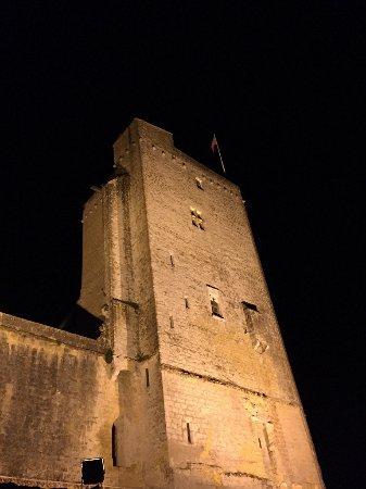 Gers, France : Tour de Termes-d'Armagnac, classée Monument Historique