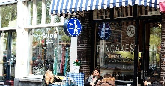 Pancakes amsterdam grachtengordel restaurant avis for Appart hotel amsterdam centre ville