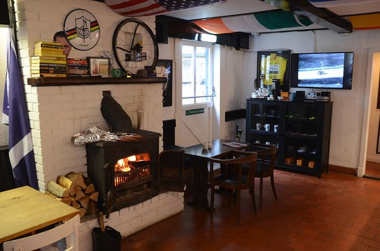 Cafe Velo at the Lagg Hotel, Kilmory, Isle of Arran