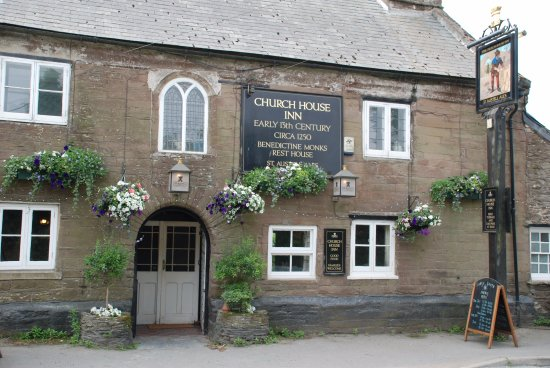 Church House Inn: Steeped in history, early 13th Century Benedictine Monks Rest Home