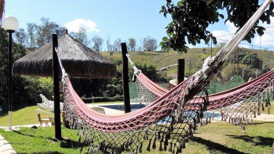 Guappo Chacara Hostel: Redário da piscina